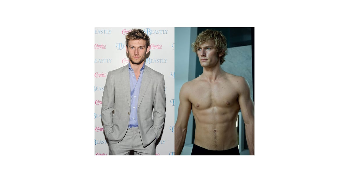 Alex Pettyfer Is Shirtless & Solo On Valentine's ...