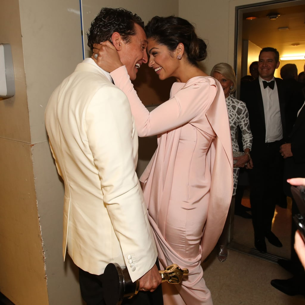 Matthew McConaughey and Wife Camila Alves at Oscars