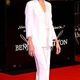She Wore a More Relaxed Version of the Look at the Curious Case of Benjamin Button Premiere in 2009