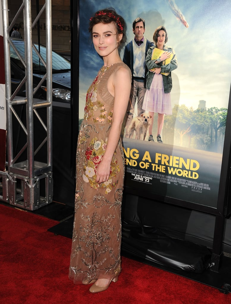 Keira carried the dress with perfect ease and elegance — the details never overwhelmed her.
