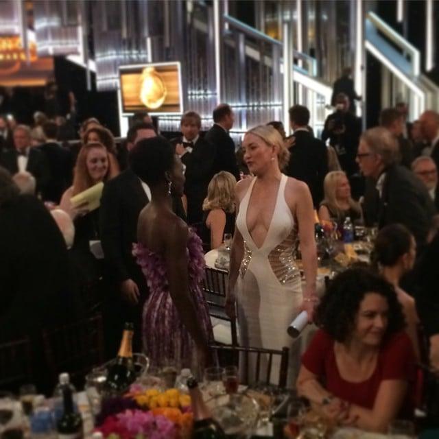 Lupita nyongo and kate hudson chatted in the audience lupita nyongo and kate hudson chatted in the audience sciox Gallery