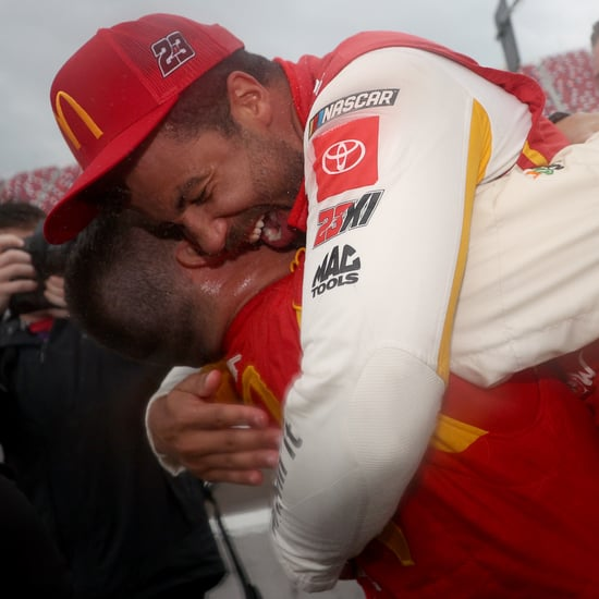 Bubba Wallace Reacts to Winning First NASCAR Series Race