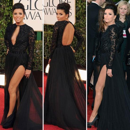 Eva Longoria | Golden Globes Red Carpet Fashion 2013