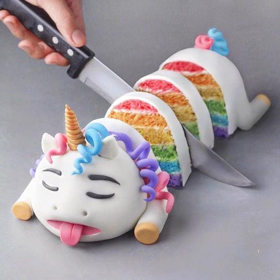 Dead Unicorn Cakes