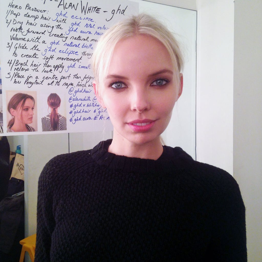Backstage Pictures at Witchery Spring Summer 2014 2015