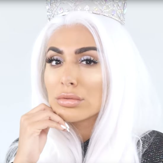 Huda Kattan Winter Solstice Collection Makeup  Look