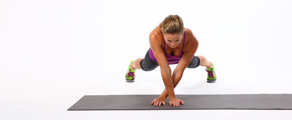 Plank Side Walk Core Exercise   GIF