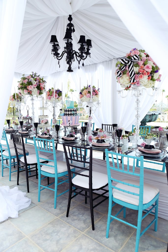 Table Setting & Table Setting | An Alice in Wonderland Sweet 16 Party | POPSUGAR ...