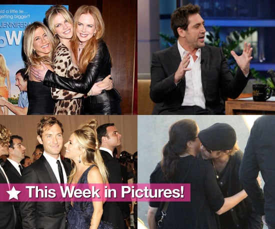 Jennifer Just Goes With It, Javier Reveals His Son's Name, Ashlee and Pete Split, and More in This Week in Pictures!