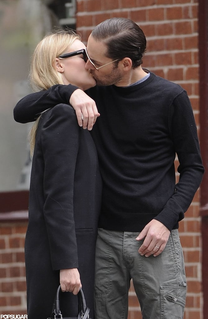 Kate Bosworth and Michael Polish shared an NYC kiss in June.