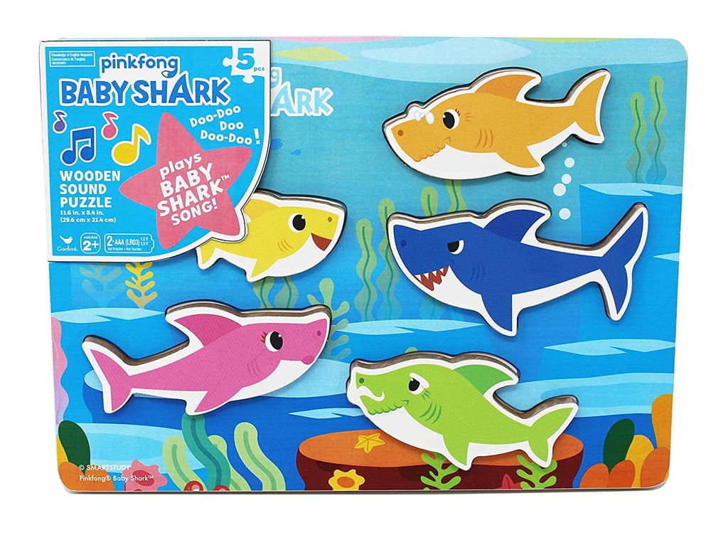 Pinkfong Baby Shark Chunky Wooden Sound Puzzle