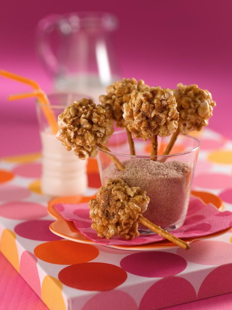 Brown-Sugar Lollipops