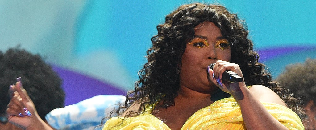 Lizzo's Stained-Glass Nail Art