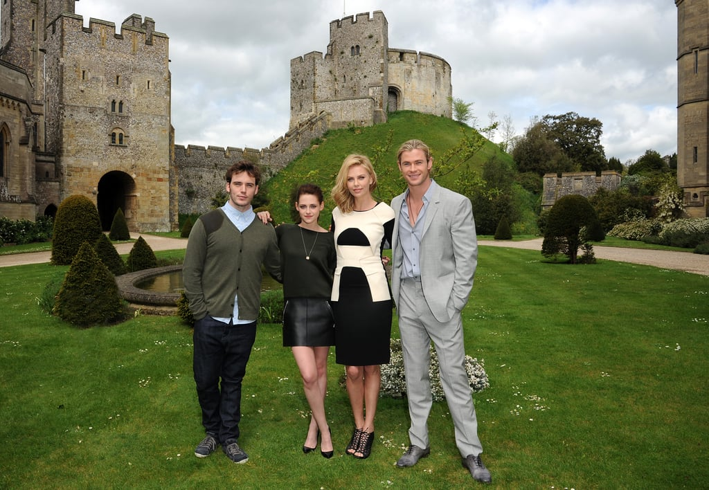 The SWATH stars posed in England.