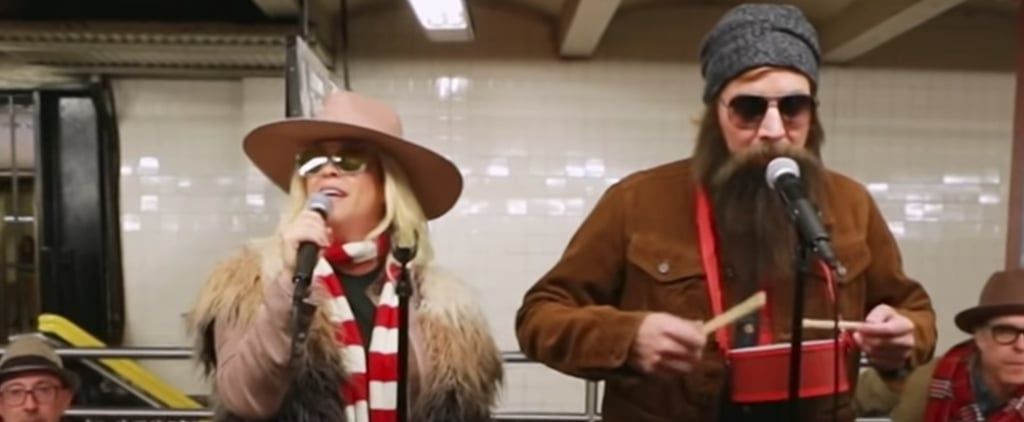 Watch Alanis Morissette and Jimmy Fallon Busk in Disguise