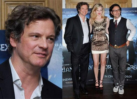 Photos of Colin Firth, Ben Chaplin, Rachel Hurd-Wood at Dorian Gray Screening