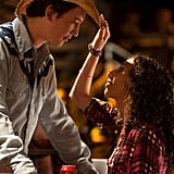 Miles Teller and Ziah Colon in Footloose.  Photo courtesy of Paramount Pictures