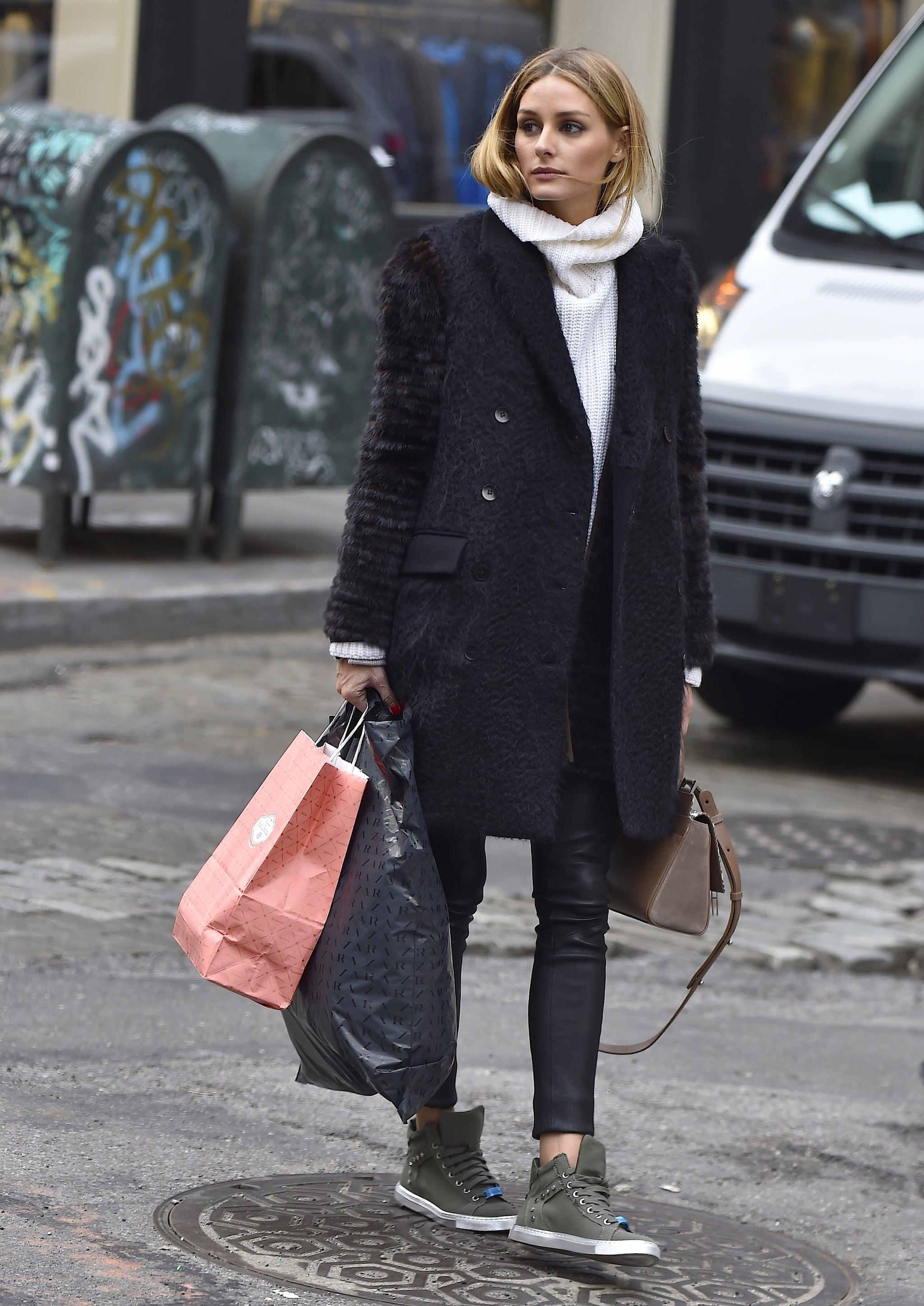 Olivia Palermo Slip On Sneakers   Who