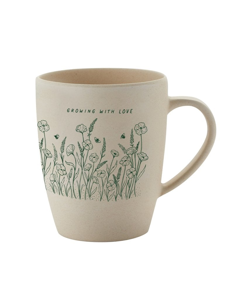 Wholesome Culture Growing With Love Bamboo Mug