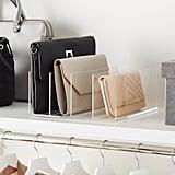 Acrylic 4-Section Purse Storage Organiser