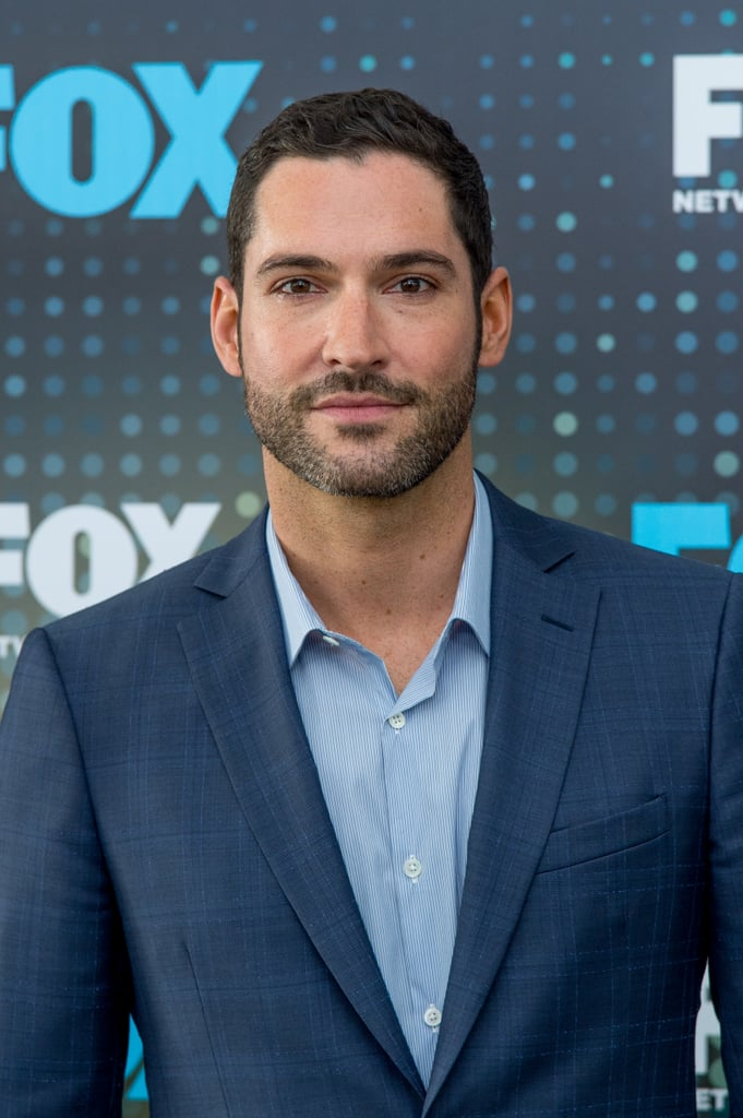 """I know that we all watch Lucifer for the plot, but let's be real, the gorgeous cast definitely plays a part in it. If leading man Tom Ellis wasn't able to pull off the Devil's charm with such aplomb, we wouldn't be able to buy into the show, right? Thankfully, Tom not only perfects that certain je ne sais quoi only Lucifer Morningstar could possess, but he also humanizes the fictional angel, making him relatable and endearing in a way that real-life """"bad boys"""" could never.  In celebration of Netflix dropping the first half of Lucifer's fifth season — in which we got a double helping of Tom thanks to him bringing Lucifer's twin brother Micheal on the scene — let's appreciate the glory that is our wicked star by perusing some of his best pictures! He's basically like a gift from above. (Oops, is it too soon for those jokes, Chloe fans?)      Related:                                                                                                           3 Reasons Everyone (Especially This Guy Right Here)Loves Lucifer"""