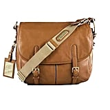 Ralph Lauren Leather Horseshoe Messenger