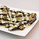 Marinated Eggplant With Tahini and Oregano