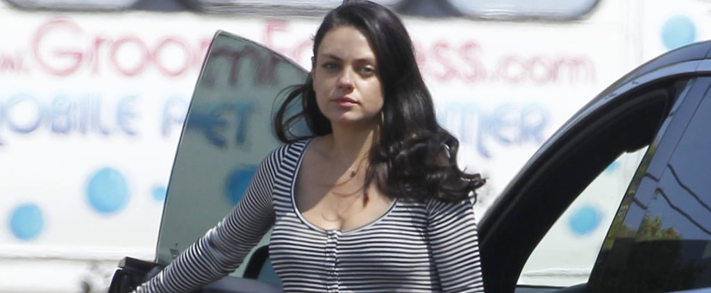 Mila Kunis Looks Calm and Carefree While Running Errands in LA