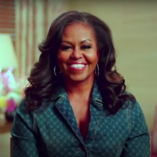 Michelle Obama Wears Denim Shirt on Kelly Clarkson Show