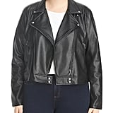Lyssé Plus Jones Faux Leather Moto Jacket