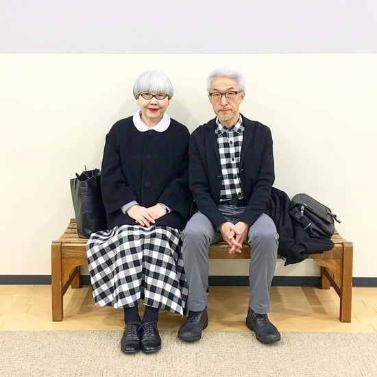 Japanese Couple in Matching Outfits