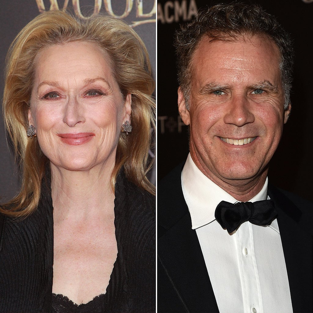 Meryl Streep and Will Ferrell