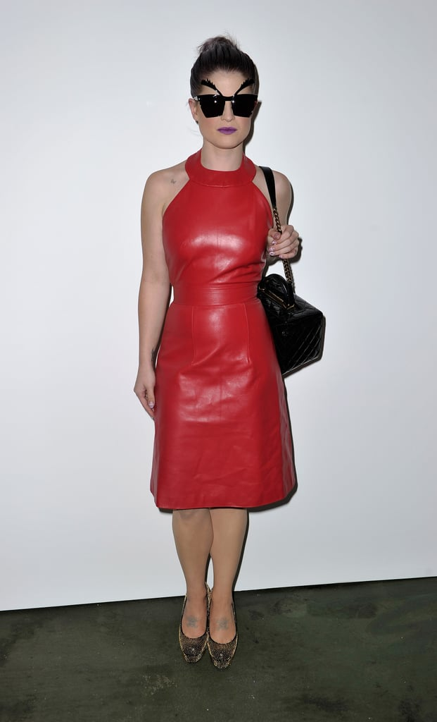 Kelly Osbourne at House of Holland