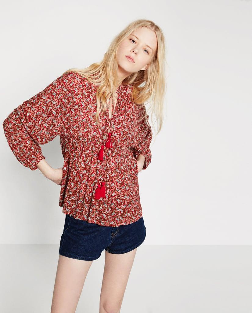 Zara Pom Pom Tunic ($36)