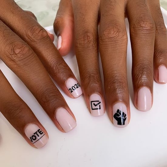Vote Themed Nail Art to Wear For the Election 2020