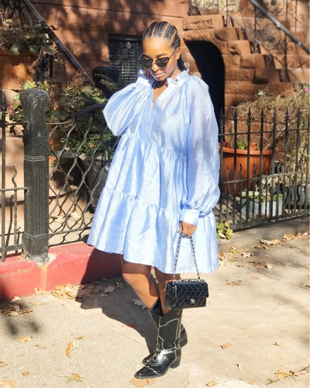 How to Style an Oversize Dress