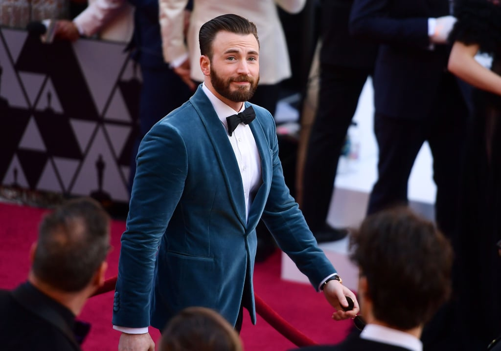 """This might not be a commonly held takeaway here, but Chris Evans seemed to have had the best time at the 2019 Oscars. One might ask, """"Wow! Did he take home any awards?"""" Not exactly, no. """"Oh . . . OK. Well, was he nominated for anything?"""" Nope, not that either. It's just that between laughing it up with Jennifer Lopez and momentarily serving as Regina King's escort, the actor genuinely looked like he was having a blast from start to finish. Enjoy all of our proof ahead, and feel free to update your ranking of the Hollywood Chrises as you see fit.      Related:                                                                                                           Chris Evans Looking FINE Is All the Reason We Needed to Tune Into the Oscars"""
