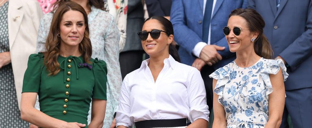 Pippa Middleton Ruffle Sleeve Dress Cheap 2019
