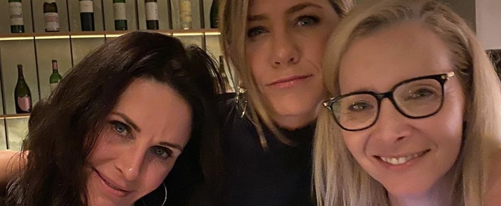 Jennifer Aniston Reunited With Friends Cast on Instagram