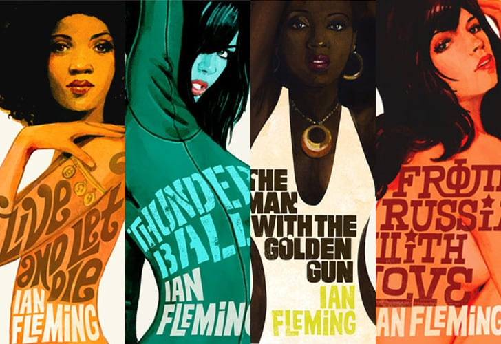 Bond Girl Illustrations