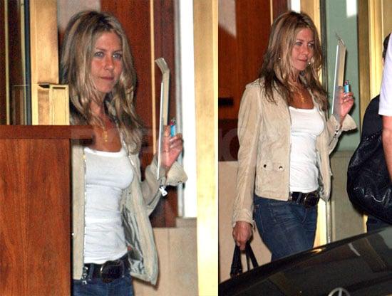 Photos of Jennifer Aniston Leaving Sunset Tower Hotel