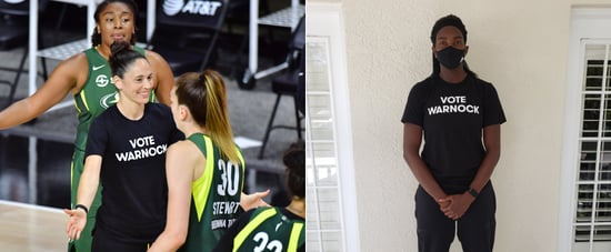 "Why WNBA Players Are Wearing ""Vote Warnock"" Shirts"