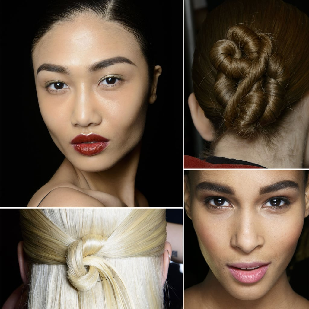 Hair And Makeup Style For Wedding: Pictures Of Wedding Hair And Makeup From Fashion Week