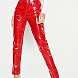 Boohoo Patent Leather Trousers
