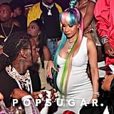 Cardi B at Pierre Thomas's Birthday Party in Atlanta 2018