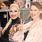 Gwen Stefani and Blake Shelton Hollywood Walk of Fame 2017