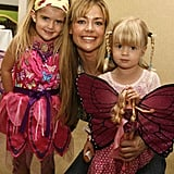 Actress Denise Richards and Daughters Sam and Lola