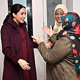 Meghan Markle Visits Hubb Community Kitchen November 2018