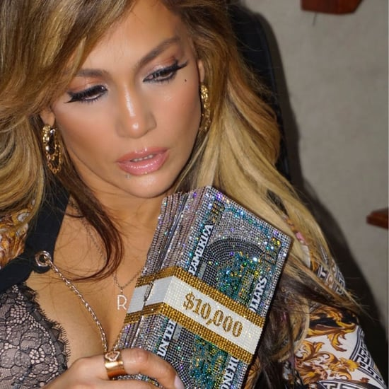 Jennifer Lopez's Money Clutch on Hustlers