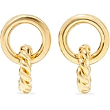 Laura Lombardi Duo Gold-Tone Earrings